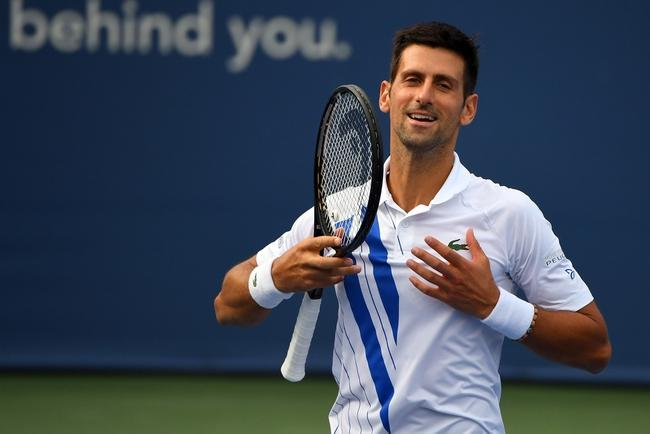 Novak Djokovic Vs Roberto Bautista Agut 8 28 20 Cincinnati Masters Tennis Picks Predictions Picks Parlays