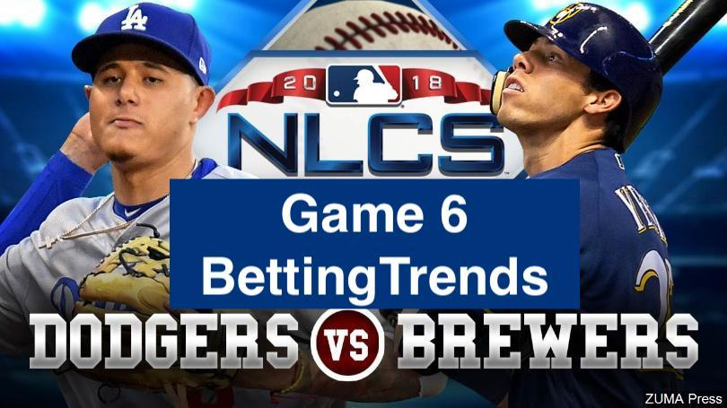 Dodgers vs Brewers - NLCS Game 6 MLB Betting Trends | Picks